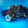 Võimas LED pealamp karbiga