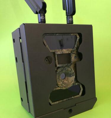 Metallist turvakarp kaamerale